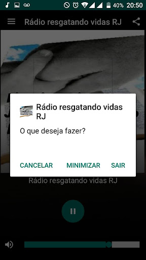 Rádio Resgatando Vidas RJ screenshot 1