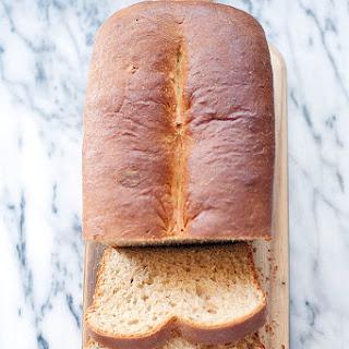 Honey Wheat Brioche Loaf Recipe