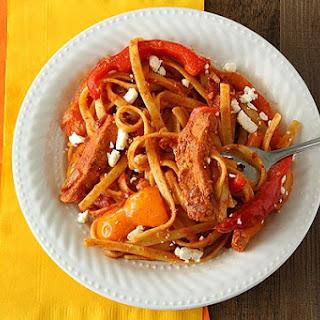 Chicken Fajita Feta-ccine.