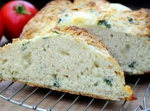 Mozzarella And Basil Bread Recipe