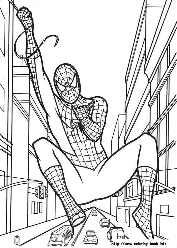 how to draw spiderman screenshot