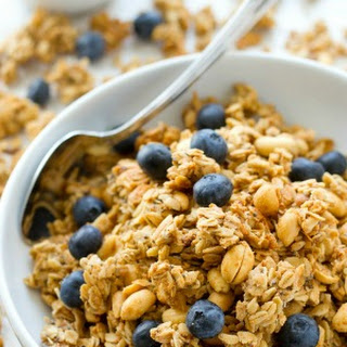 Healthy Peanut Butter Chia Seed Granola