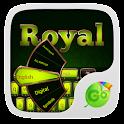 Royal GO Keyboard Theme &Emoji icon