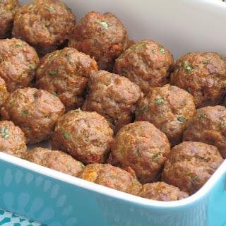 Baked Italian Meatballs {Freezer Meal}