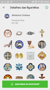 Figurinhas Religiosas Premium sem ADS Screenshot