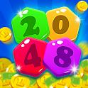 2048 Hexagon - Hexagon Puzzle icon