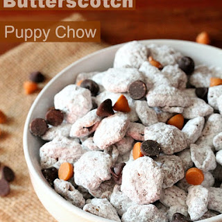 Butterscotch and Milk Chocolate Puppy Chow