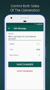 WhatsFake - (Create fake chats) - náhled