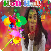 Happy Holi DP Maker For Whatsapp : Holi Card Maker