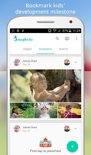 Snapbrite - Kid photo timeline- screenshot thumbnail