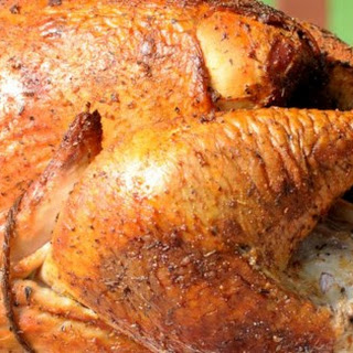 Easy Smoked Turkey.