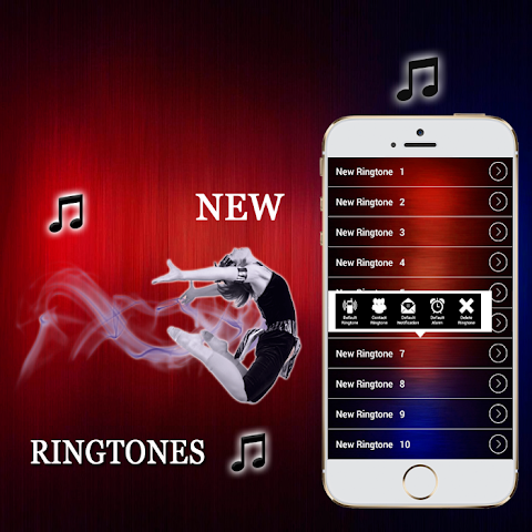 android New Ringtones 2016 Screenshot 4