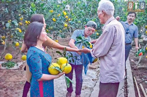 Làng vườn Bách Thuận, điểm đến sinh thái