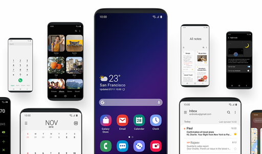 Theme for Samsung One UI 1.0.6 screenshots 2