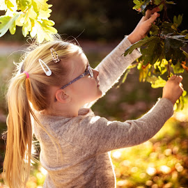 Autumn by Vix Paine - Babies & Children Children Candids ( candid, girl, child )