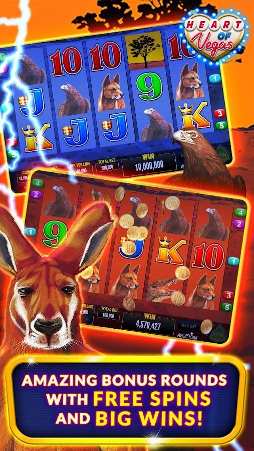 heart of vegas casino free slots free coins