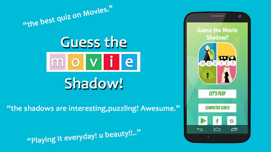 Movie Mania: Guess the Shadow
