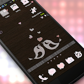 Cute Love Birds Theme IconPack