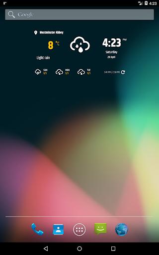 Simple weather & clock widget (no ads) screenshots 15