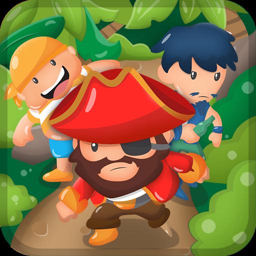 3 Happy Pirates