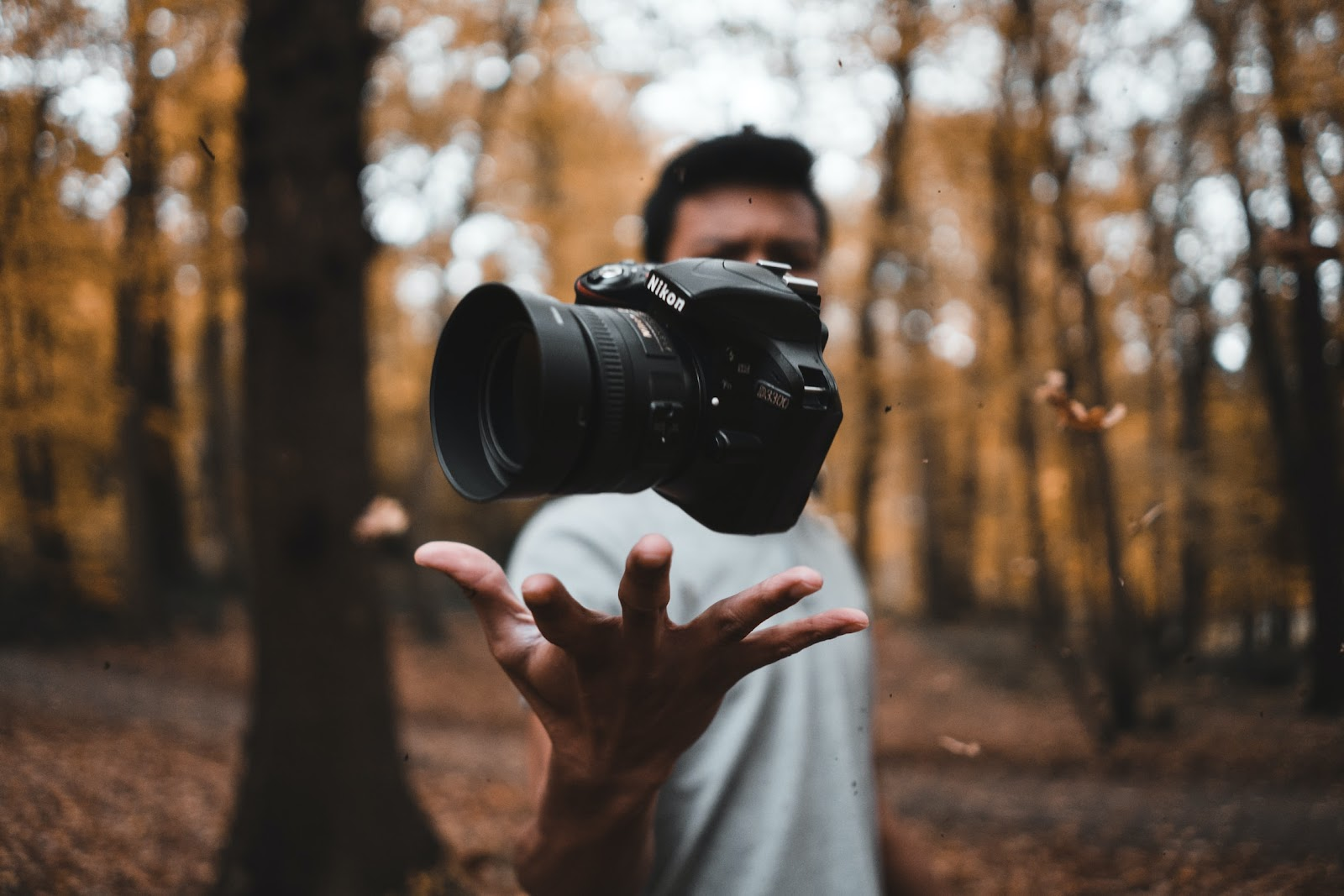 Being in control of your camera