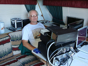 Photo: KR7LD 40 & 15 Meter CW/RTTY/SSB  FD2009,  total contacts 1313