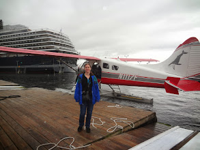 Photo: Mom and I took a flightseeing tour