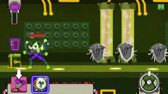 Omni-trix Glitch : Alien Transform Hero 1
