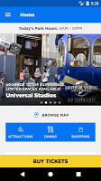 screenshot of Universal Hollywood™ App