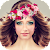 Flower Crown Hairstyle file APK Free for PC, smart TV Download