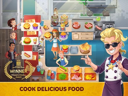 Cooking Diary® MOD (Unlimited Gems) 8