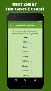 Gems For Castle Clash FREE Screenshot Thumbnail