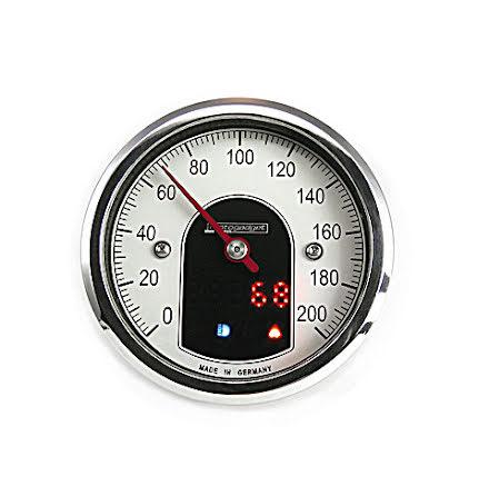 motogadget analogue speedometer motoscope tiny, polished