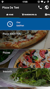 Pizza Da Toni – Pizza-Bestell-App - náhled