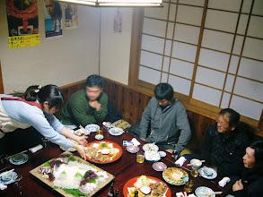 Photo: そして、会はスタート! 当然、みんな時間内の集合でしたが、フライング組はすでに・・・。
