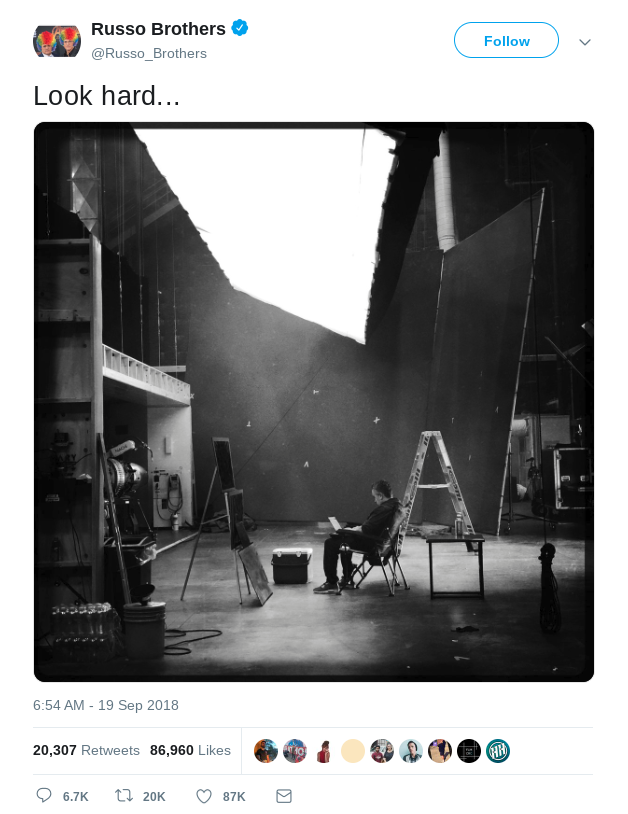 Avengers Endgame name teased in a tweet by the Russo Brothers - a great example of viral marketing