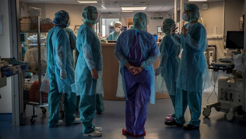 Almería, con 14, es la provincia andaluza que más pacientes tiene ingresados.