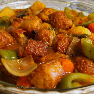 Chicken Sausage Curry.