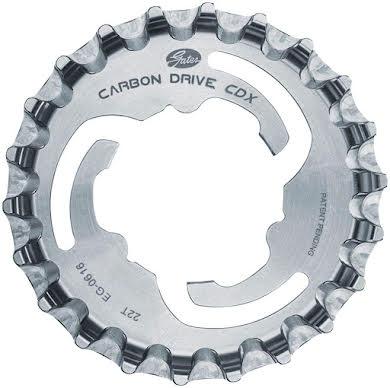Gates CDX Rear Sprocket for 3-Lobe SureFit - 22t, Silver alternate image 0
