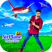 Airplane Photo Editor - Background Changer