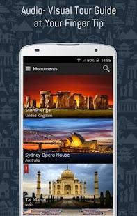 Monument Tour Guide:Travel App- screenshot thumbnail