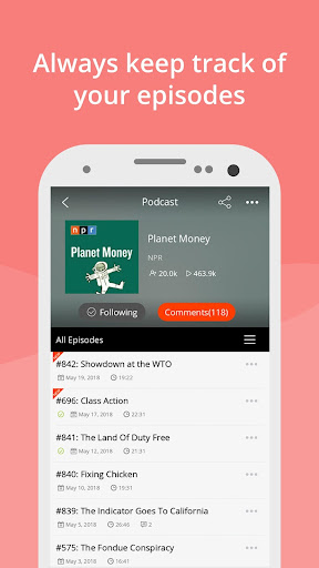 Podcast App & Podcast Player - Podbean 7.6.6 screenshots 3