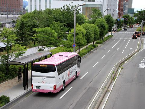 ウィラーエクスプレス 長野駅東口バスのりば付近