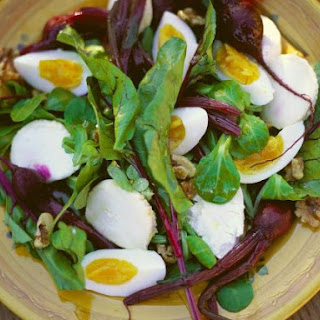 Beetroot and Mozzarella Salad