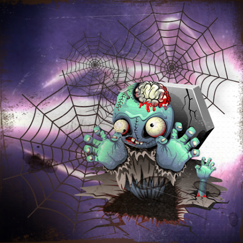 android Spider zombie race adventure Screenshot 1