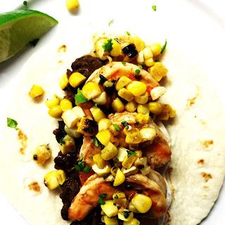 Buttermilk Shrimp Tacos + Cilantro Brown Butter