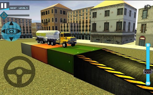 Real Truck Parking Simulation - náhled