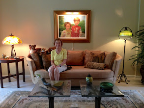 Photo: Sydelle Sher at home in Delray Beach