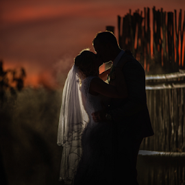 Nightfall by Lood Goosen (LWG Photo) - Wedding Bride & Groom ( bride, love, wedding dress, wedding photography packages, groom, wedding photographer, wedding photography, lavandou venue, weddings, wedding day, wedding photographers, brides, lwg photo, kiss, lood goosen, www.lwgphoto.co.za, wedding photographers pretoria, 0844040343, bride and groom, best wedding photographers, wedding photographer gauteng, wedding, award winning photographers )