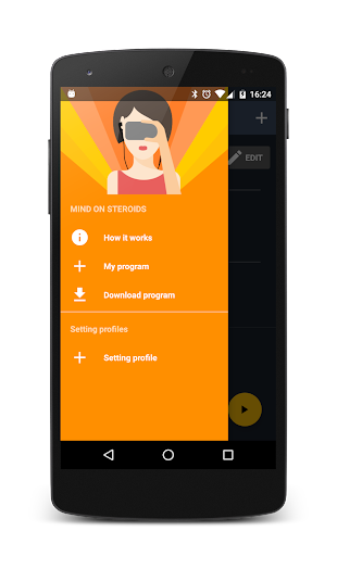 Mindroid- screenshot